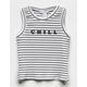 FULL TILT Chill Girls Tank Top