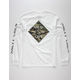 SALTY CREW Tippet Cover Up White Mens T-Shirt