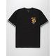 BRIXTON Rawson Black Mens T-Shirt