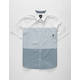 VANS Houser Light Blue & White Boys Shirt