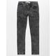 LEVI'S 519 Extreme Skinny Wash Black Boys Stretch Jeans