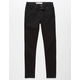 LEVI'S 519 Extreme Skinny Black Boys Stretch Jeans