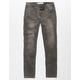 LEVI'S 519 Extreme Skinny Grey Boys Stretch Jeans