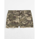 REWASH Camo Girls Denim Shorts