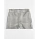 WHITE FAWN Plaid Girls Shorts