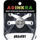 ADINKRA West African Shoelace Charm