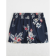 WHITE FAWN Tropical Floral Girls Shorts