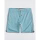 VISSLA Sofa Surfer Teal Blue Boys Shorts