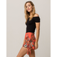 SKY AND SPARROW Tie Side Womens Shorts