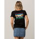 VANS Off The Wall Palm Womens Tee