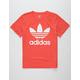 ADIDAS Trefoil Red & White Boys T-Shirt