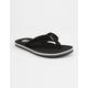 CORDS Venice Black & White Mens Sandals