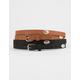 2 Pack Skinny Western Belts