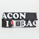 BUCKLE-DOWN Honda I Heart Bacon Buckle Belt