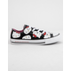 CONVERSE x Hello Kitty Chuck Taylor All Star Black & Prism Pink Low Top Girls Shoes