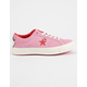 CONVERSE x Hello Kitty One Star Prism Pink & Firey Red Womens Shoes