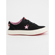CONVERSE x Hello Kitty One Star Black & Prism Pink Womens Shoes