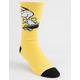 HUF x Peanuts Snoopy Skates Yellow Mens Crew Socks