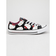 CONVERSE x Hello Kitty Chuck Taylor All Star Black & Prism Pink Low Top Womens Shoes