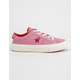 CONVERSE x Hello Kitty One Star Prism Pink & Firey Red Girls Shoes