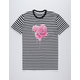 LA FAMILIA Dripping Rose Mens T-Shirt