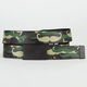 BUCKLE-DOWN Camo Mustache Boys Web Belt