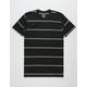 BILLABONG Die Cut Black Mens T-Shirt