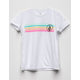 VOLCOM Stoneternally White Girls Tee