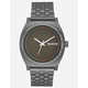NIXON Time Teller Gunmetal & Slate Watch