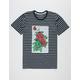 LA FAMILIA Transparent Rose Mens T-Shirt