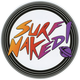 LOST Surf Naked Sticker