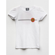SANTA CRUZ Classic Dot White Girls T-Shirt