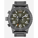 NIXON 51-30 Chrono Gunmetal & Slate Watch
