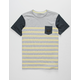 QUIKSILVER Hoopla Valley Boys Pocket Tee