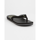 RIP CURL A-Frame Black Mens Sandals