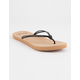 ROXY Lahaina III Black Womens Sandals