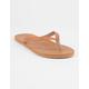 ROXY Jyll II Tan Womens Sandals