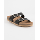 SODA Double Buckle Womens Slide Sandals
