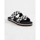 VANS Cayucas Checkerboard Womens Slides