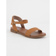 SODA Comfy Meadow Tan Womens Sandals