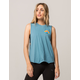 HURLEY Rise And Shine Womens Muscle Tank Top