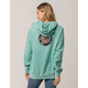 SANTA CRUZ Reverse Dot Mint Womens Hoodie