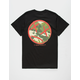 LIGHTS OUT KO Camo Face Mens T-Shirt
