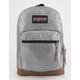 JANSPORT Right Pack Digital Edition Silver Metallic Weave Laptop Backpack