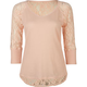 EYESHADOW Lace Back Womens Thermal