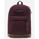 JANSPORT Right Pack Digital Edition Burgundy Laptop Backpack