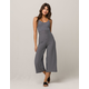 POLLY & ESTHER Stripe Womens Jumpsuit
