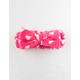 THE CRÈME SHOP White & Pink Teddy Headband