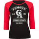 FAMOUS Stars & Straps Threaded Womens Baseball Tee