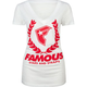FAMOUS Stars & Straps Wreath BOH Womens Tee